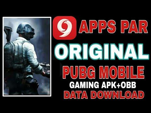 9apps Par Original PUBG Mobile Games APK+OBB DATA Download Kaise Kare