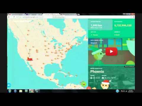 Tracking Santa Live 2015 With Your Host Eric