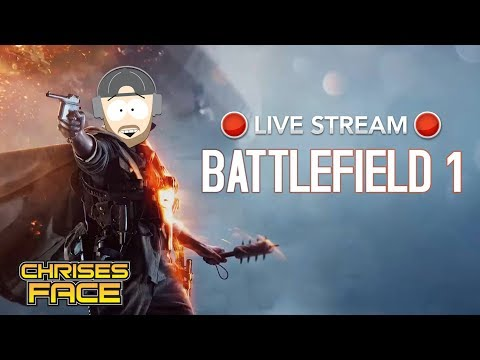 Battlefield 1 Live stream Multiplayer Game play Come Join!