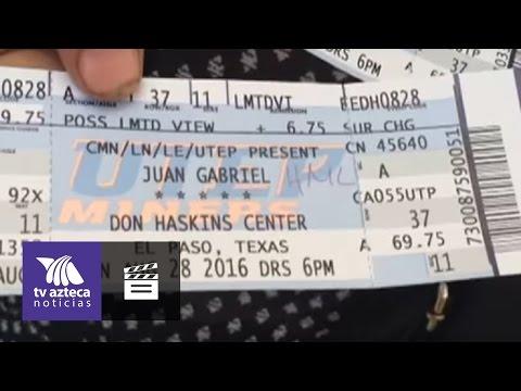 Rinden tributo a Juan Gabriel afuera del Don Haskins Center