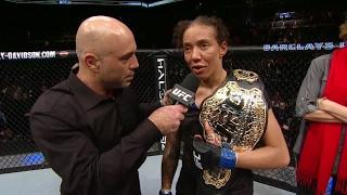 UFC 208: Germaine de Randamie Octagon Interview