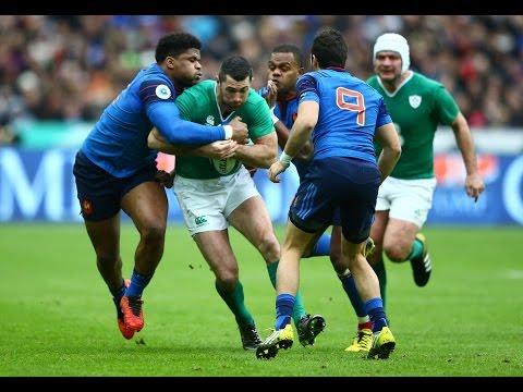 First Half Highlights - France 3-9 Ireland | RBS 6 Nations