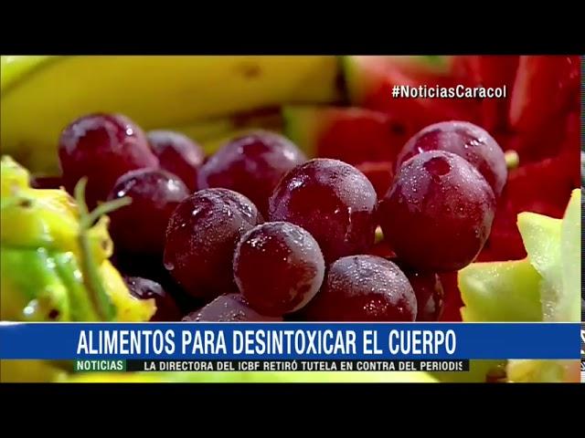 Conozca Los Alimentos Que Ayudan A Desintoxicar El Cuerpo Youtube