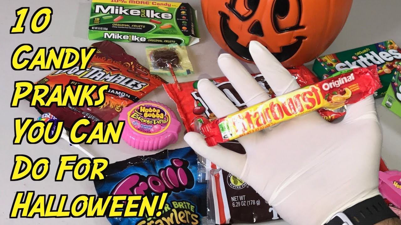 Halloween Candy Prank.10 Halloween Pranks You Can Do With Candy How To Prank Evil Booby Traps Nextraker Youtube