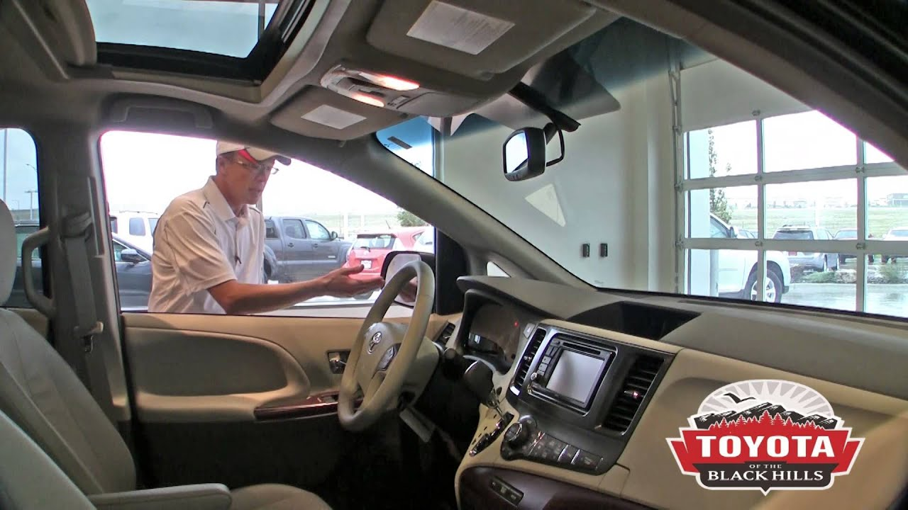 2013 Toyota Sienna Review in Rapid City, SD - YouTube