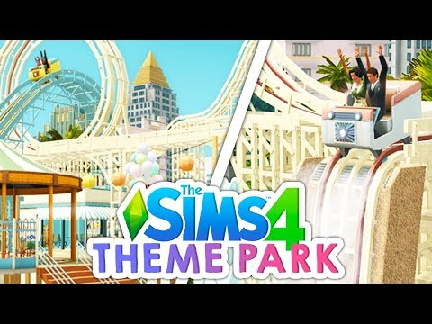 THEME PARK PACK🎢🎠 // A PACK I'VE ALWAYS WANTED IN THE SIMS 4   LET'S TALK! thumbnail