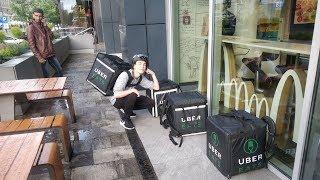 Czy McDonald's nienawidzi dostawców Uber Eats?
