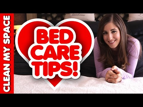 How to Keep Your Bed Clean, Fresh, & in Great Condition! (Clean My Space)