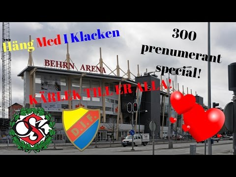 Häng Med I Klacken | ÖSK-DIF | 300 prenumerantspecial!