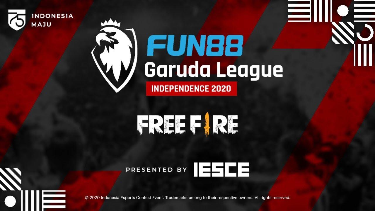 FUN88 GARUDA LEAGUE INDEPENDENCE 2020 FREE FIRE DAY 18 IESCE ESPORTS TOURNAMENT