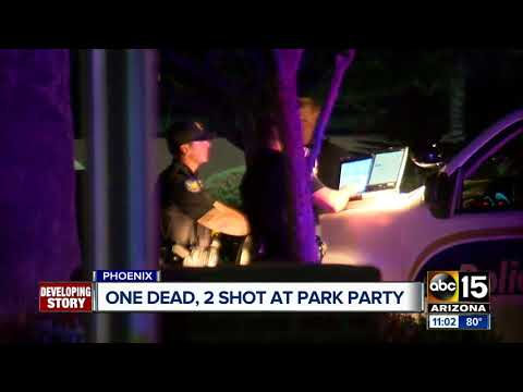 Man dies after shooting at Phoenix park on Easter