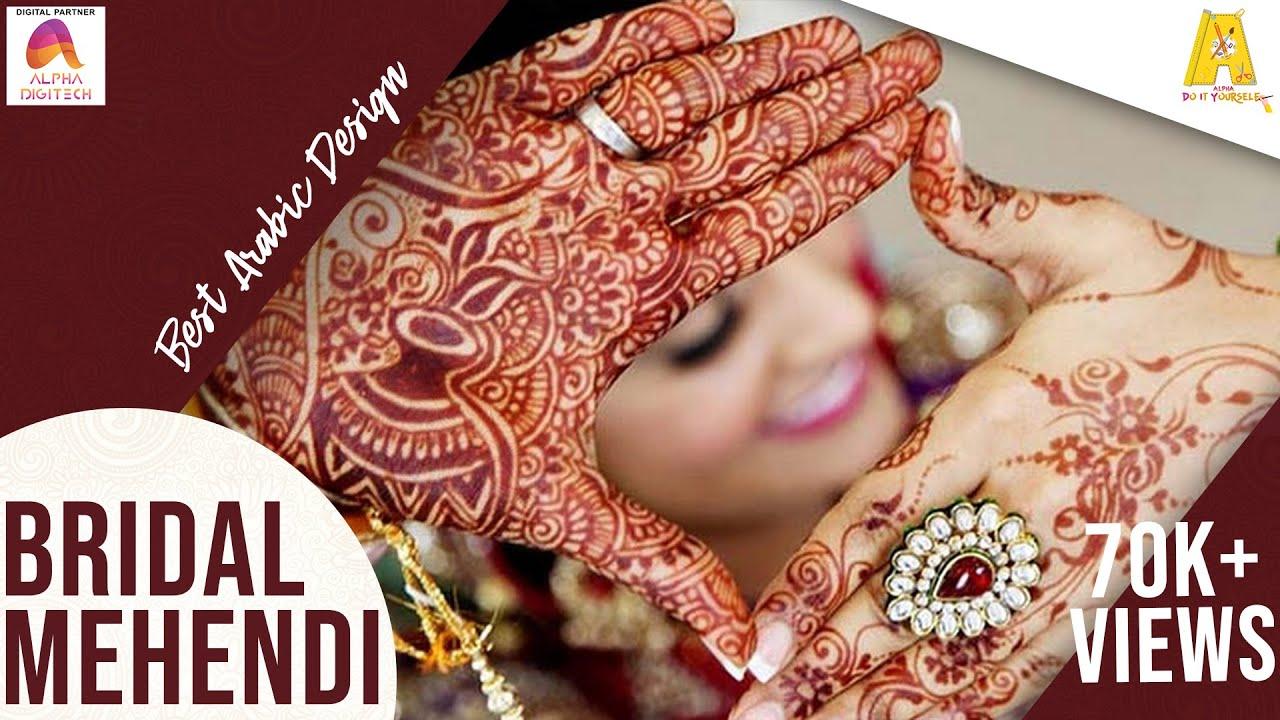 Top 10 beautiful arabic mehndi design art - Top 10 Beautiful Arabic Mehndi Design Art 24
