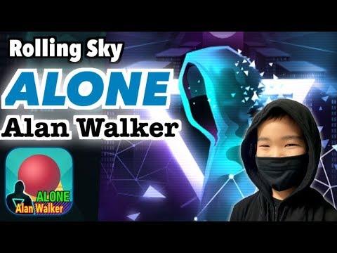 Rolling Sky【Alone (Alan Walker)】100%(5gems) ローリングスカイ【Alone】クリア