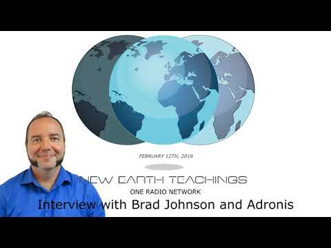 Brad Johnson and Adronis Channeling  on One Radio Network  NewEarthTeachings.com