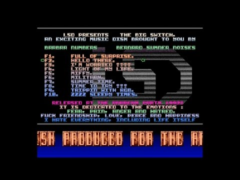LSD - The Big Switch  -= Amiga 50fps =-