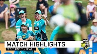Heat claim final-ball thriller in semi | Rebel WBBL|04