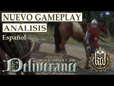 KINGDOM COME DELIVERANCE | Análisis NUEVO Gameplay | MERCADO, SIGILO, COMBATE, HABILIDADES, Y MÁS