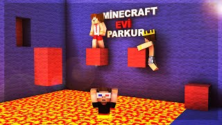 Minecraft Evi Özel Parkur Haritası !