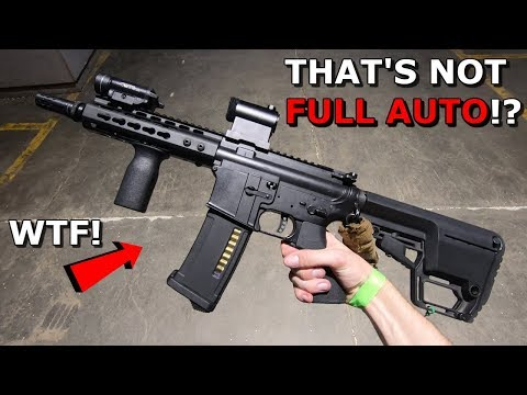 Fastest Airsoft Gun EVER! How is this not Full Auto!? $1,000 DSG Gameplay!