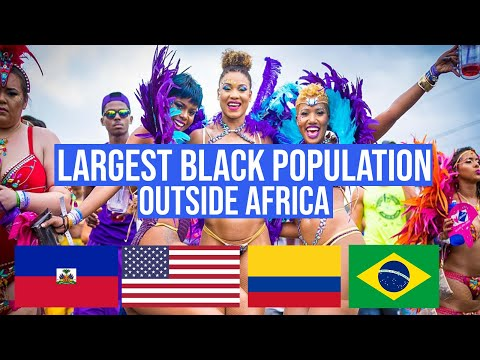 10 Countries With The LARGEST Black Populations Outside Africa
