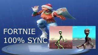 Fortnite Dances New emote dame tu cosita with MUSIC 100% IN SYNC (Updated) 2018