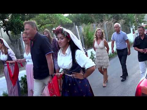 Michael & Christina's Wedding -Hochzeit-Agh. Mattheos Corfu 'On the way to the Shop',16-7-2016