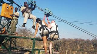 Tandem Zipline & Gorge Swing In Victoria Falls, Zimbabwe