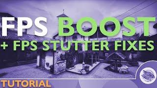 CSGO FPS BOOST | 60 TO 200-300 FPS | OCTOBER 2017 | FPS Stutter FIX
