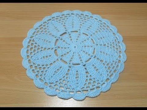 Uncinetto Crochet Centrino Alluncinetto Centro Passo A Passo