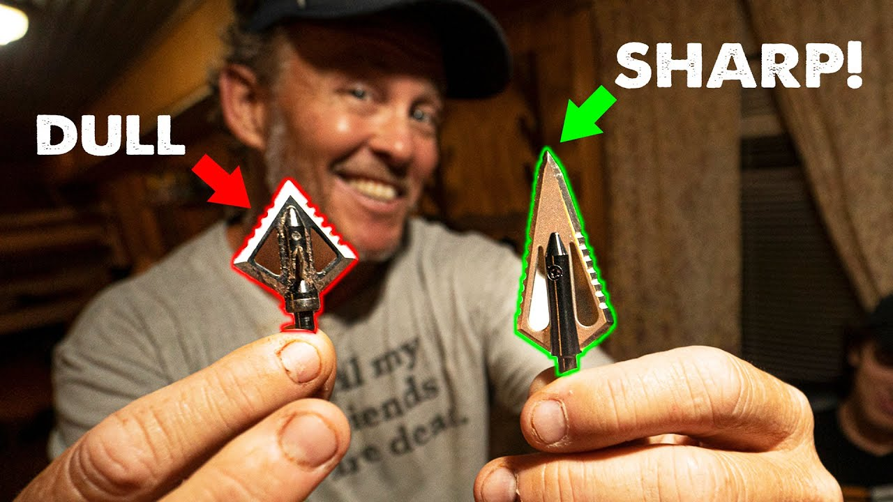 How to get RAZOR SHARP Broadheads w/RANCH FAIRY!