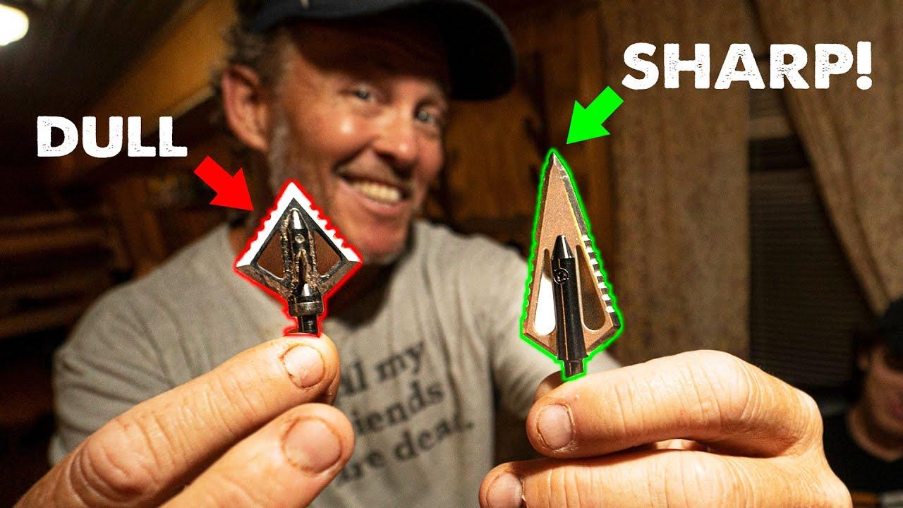 How to get RAZOR SHARP Broadheads w/RANCH FAIRY!