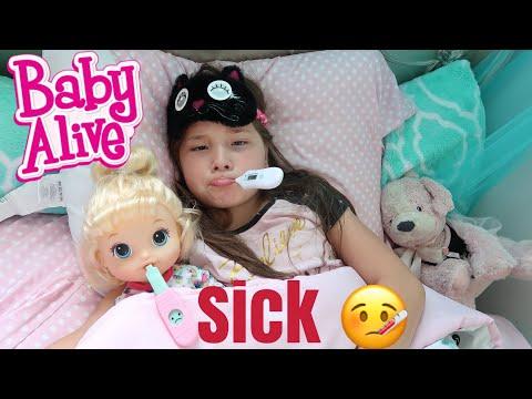 BABY ALIVE Tiffany And Jaycee Are Sick