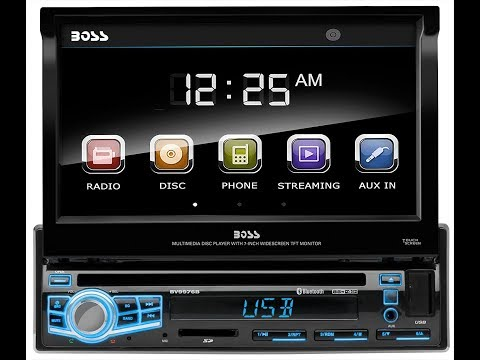 BOSS Audio BV9976B Single Din, Touchscreen, Bluetooth | Car Audio Review