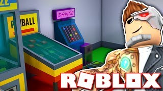 MAKING MY OWN ARCADE IN ROBLOX!!