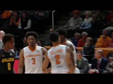 Vol Hoops | Tennessee 103, App State 94
