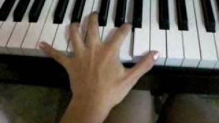 Ashita Hareru Kana - piano tutorial (part 1)