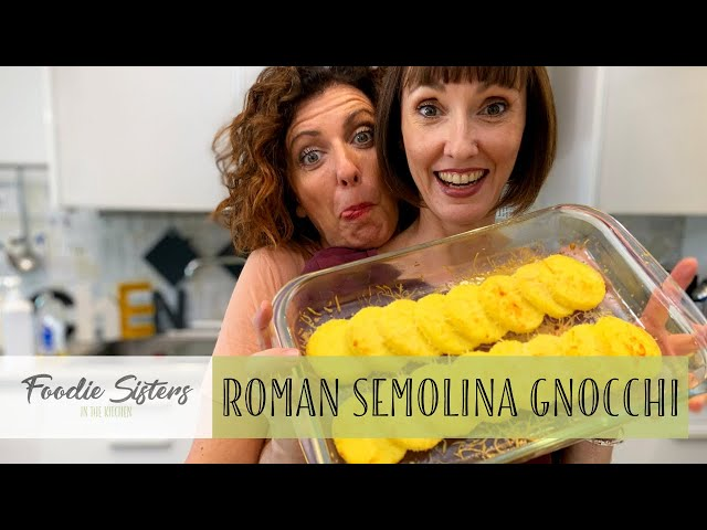 The Best Traditional Roman Gnocchi Recipe - Foodie Sisters in Italy