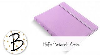 Filofax Notebook Review / Show & Tell