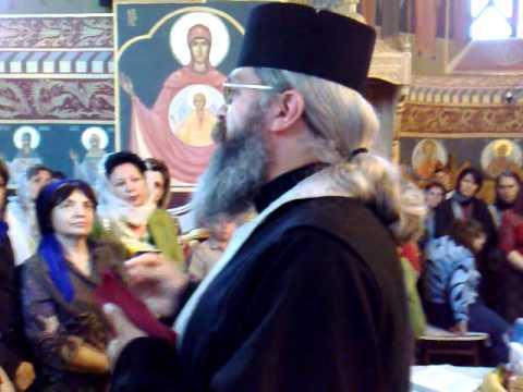 Folosul Tainei Sfantului Maslu   parintele Calistrat Chifan 2009