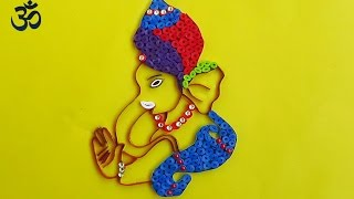 Paper Quilling Lord Ganesha  Chaturthi Festival Special