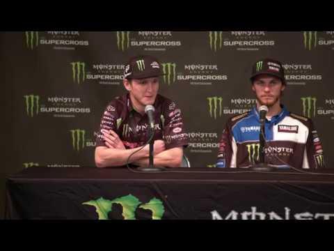250SX Class Post Race Press Conference - Houston - 2018