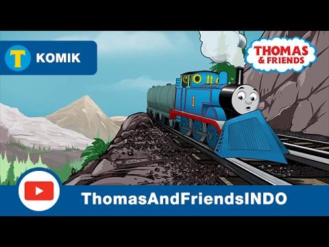 Kereta Thomas & Friends Indonesia: Komik Thomas - Mengunjungi Pegunungan Rocky di Kanada