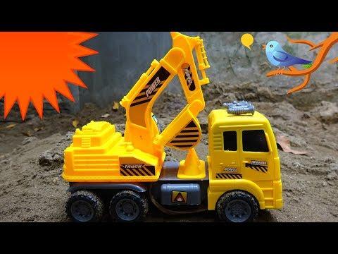 Super hero car excavator H21M - toys for kids