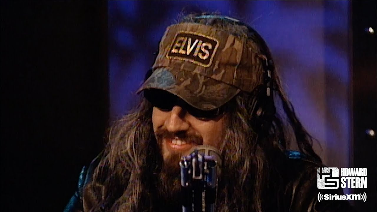 """American Nightmare 2002 rob zombie rehearses """"the great american nightmare"""" with howard stern"""