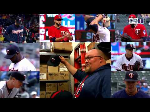 Behind The Scenes In The Twins' Equipment Room