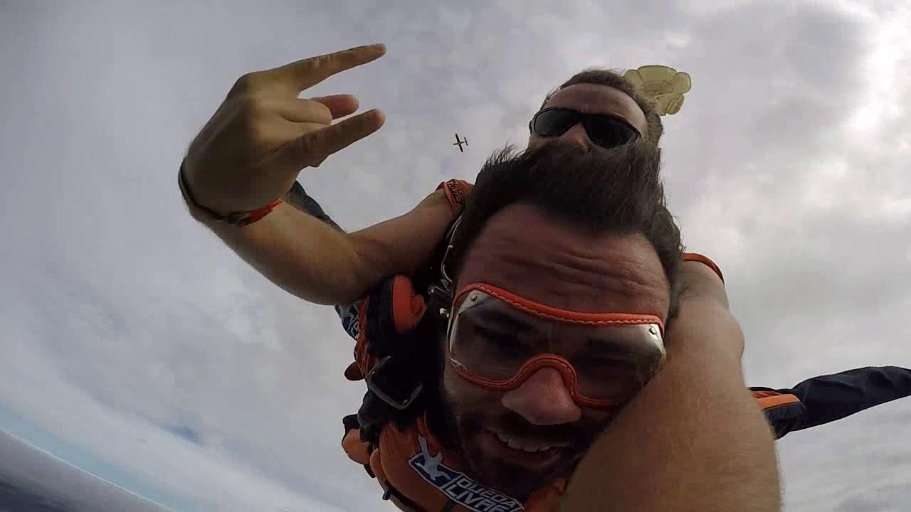 Salto de Paraquedas do Misael na Queda Livre Paraquedismo 21 01 2017