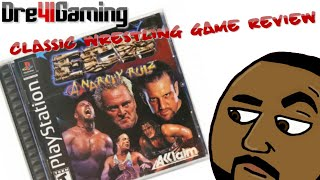 Classic Wrestling Game Review: ECW Anarchy Rulz PS1