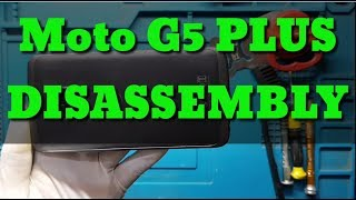 Moto G5 Plus Teardown | Disassembly // How to open  by RAHUL MOBILE