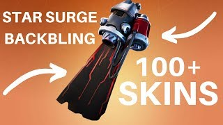 *NEW*STAR SURGE BACKBLING ON 100+ SKINS! *FREE BACKBLING- The Scientist- Fortnite Season 10
