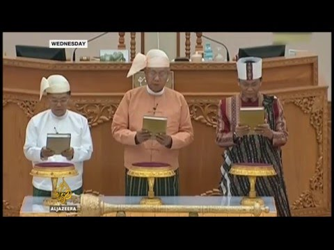 Myanmar parliament creates new powerful position for Suu Kyi